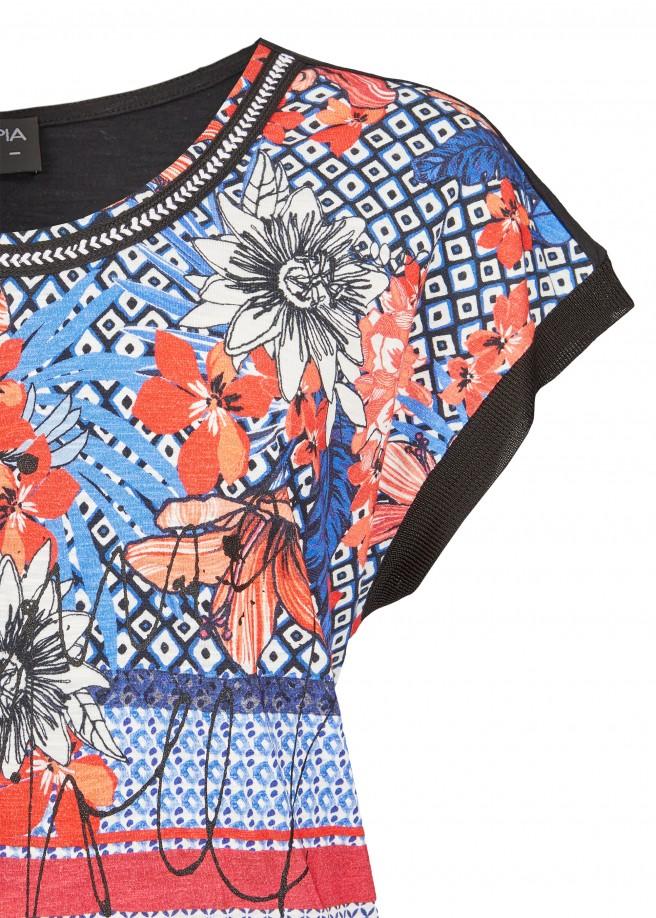 Sommerliches Shirt mit Print /