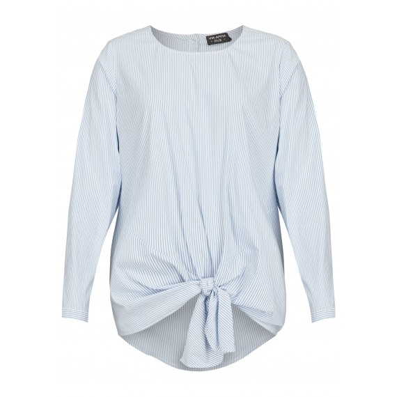 Stylische Bluse mit Schnürung /
