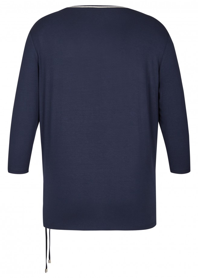 Verspieltes Shirt mit Front-Motiv /