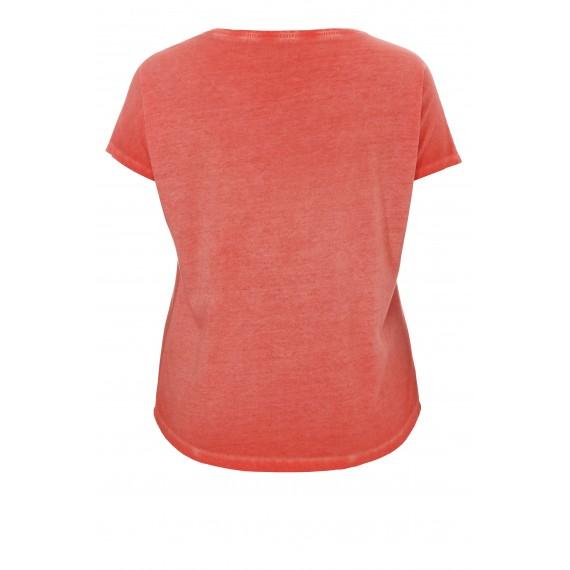 Sommerliches Shirt mit Wende-Pailletten /
