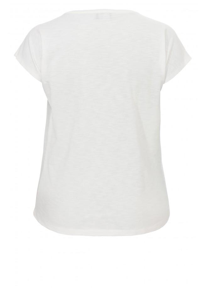 Süßes Ringel-Shirt mit Stickerei /