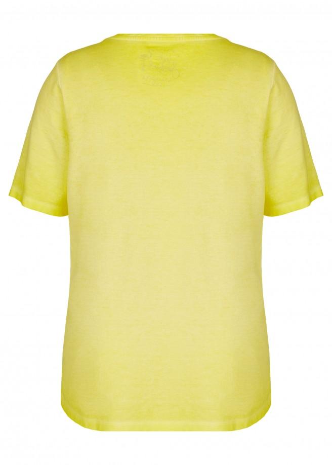 Sommerliches T-Shirt mit Front-Motiv /
