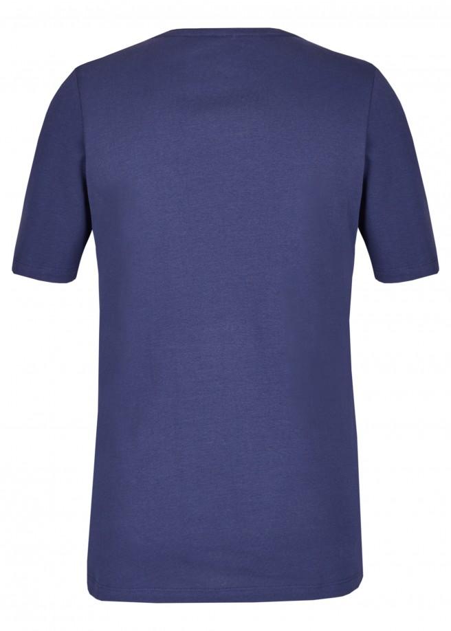 Fröhliches T-Shirt mit Statement /
