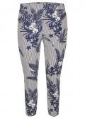 Sommerliche Hose mit Muster /
