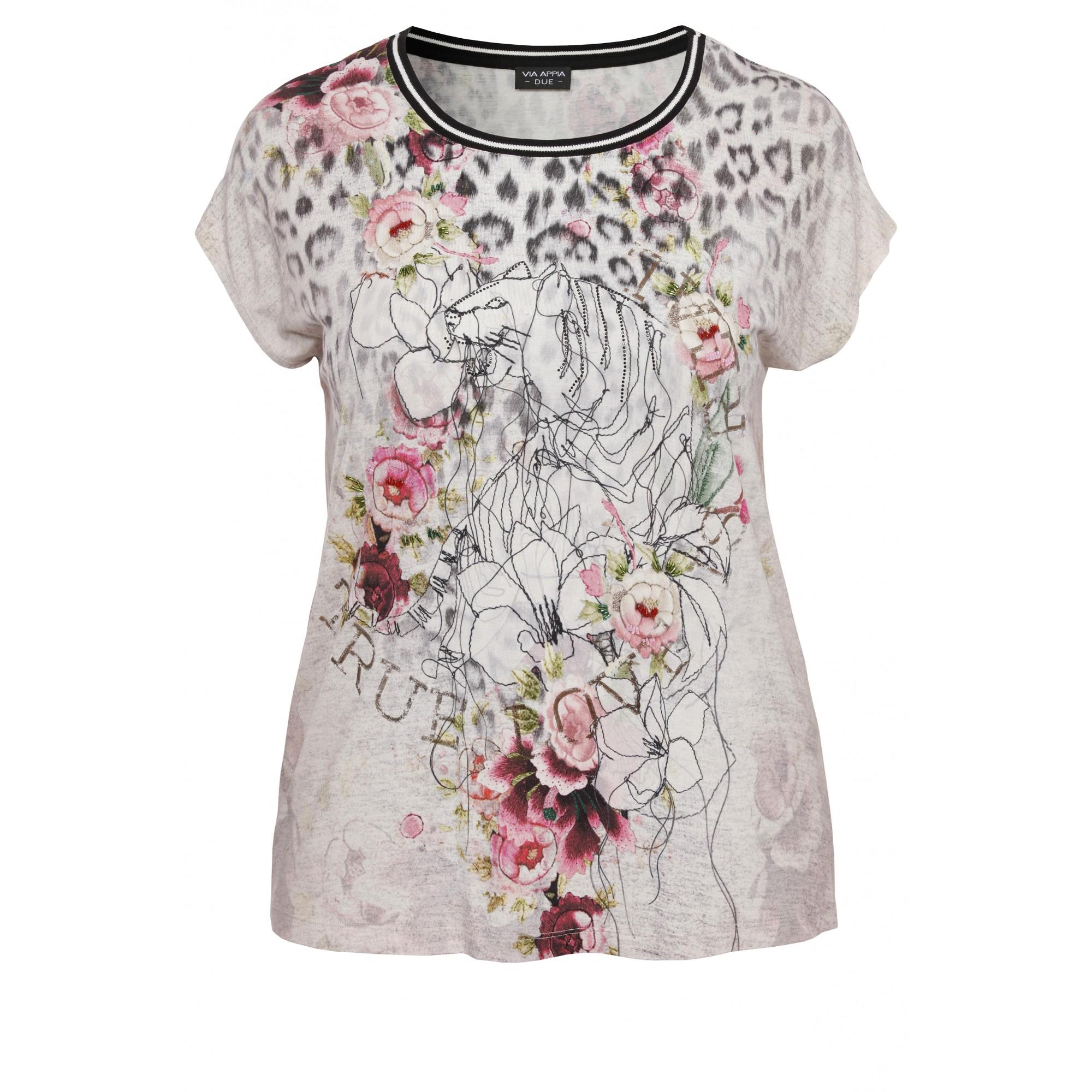 Romantisches Shirt mit Print