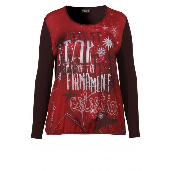 Luftiges Shirt mit Print /
