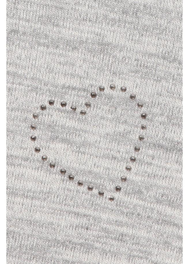 Süßer Pullover mit Ziersteinchen /