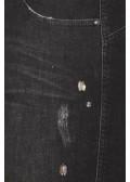 Bequeme Jeans mit Ziersteinchen /