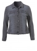 Rockige Jeansjacke mit Ziernieten /