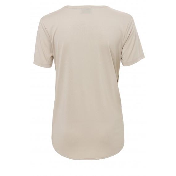 Leichtes Shirt mit V-Ausschnitt /