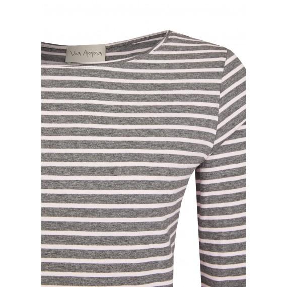 Luftiges Shirt mit Ringel-Muster /