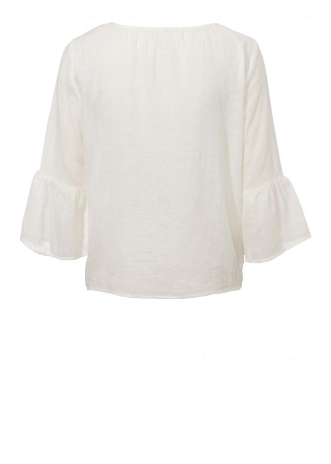 Süßes Blusen-Shirt mit Volants /