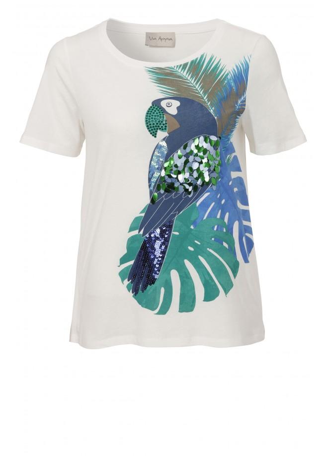Exotisches T-Shirt mit Verzierungen /