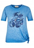 Verspieltes T-Shirt mit Front-Motiv /