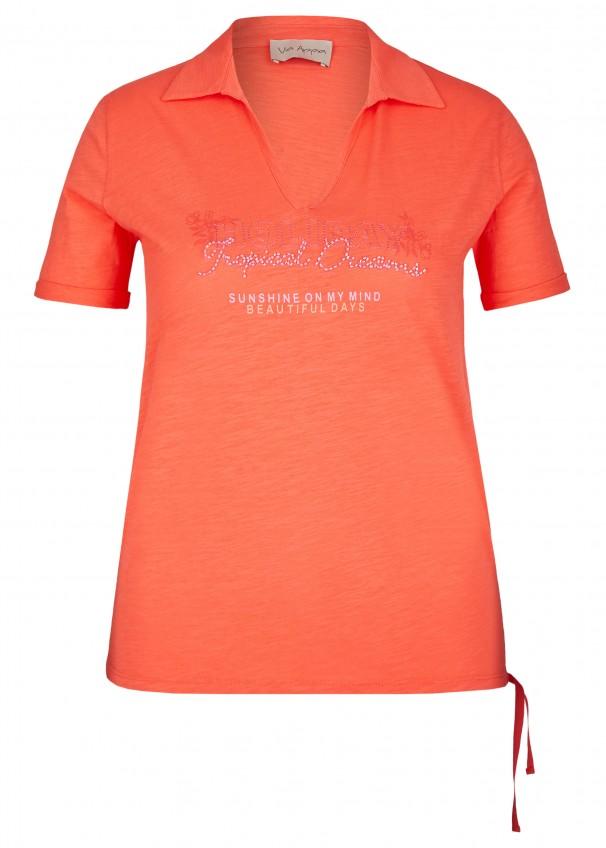 d8c895b1c7188c Sportives Shirt im Polo-Stil hummer multicol.