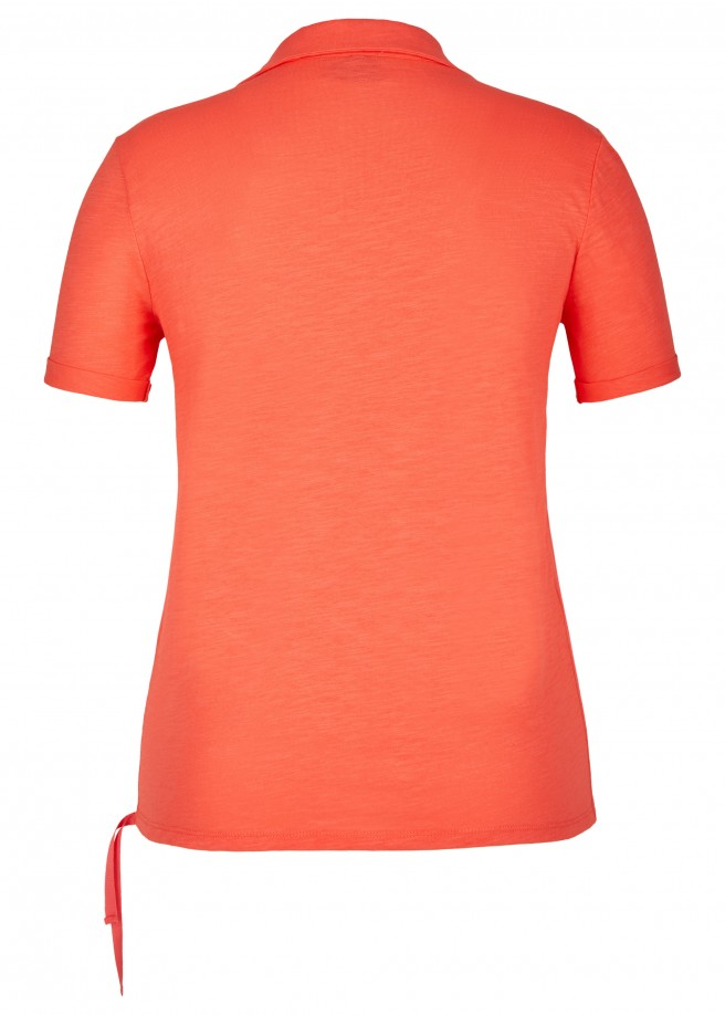 Sportives Shirt im Polo-Stil /