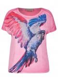 Verspieltes Blusen-Shirt mit Front-Motiv /