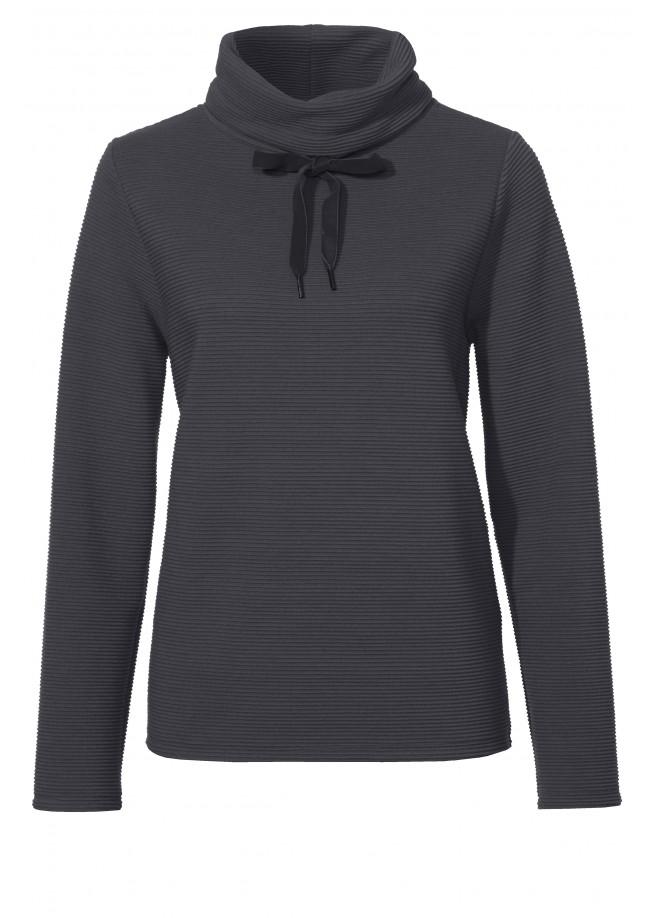 Kuscheliges Sweatshirt mit Strukturmuster /