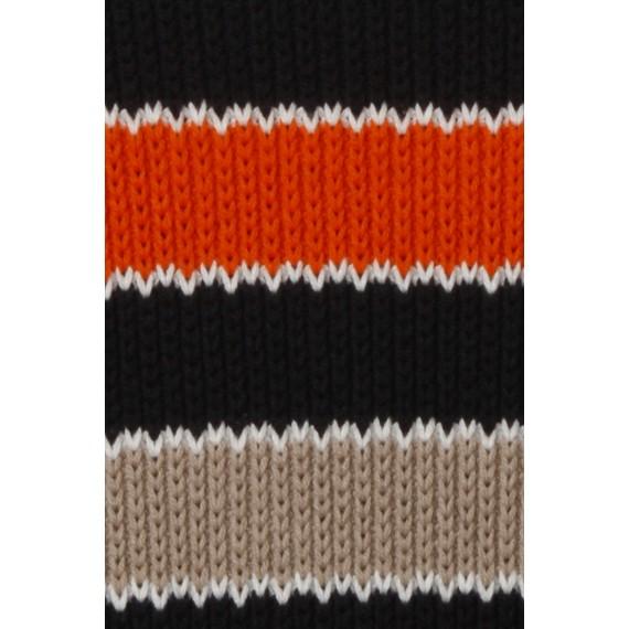 Kuscheliger Pullover mit Ringel-Muster /