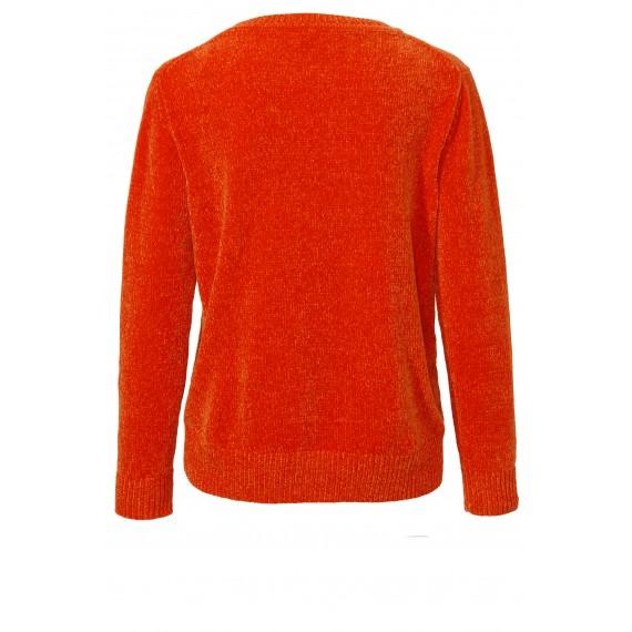 Kuscheliger Pullover mit Schimmereffekt /
