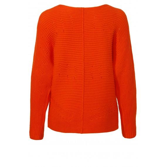 Kuscheliger Pullover mit Strick-Muster /