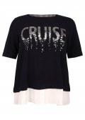 "Trendiges Sweatshirt mit Pailletten ""CRUISE"" /"