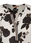 Schöne Bluse mit floralem Allover-Print /