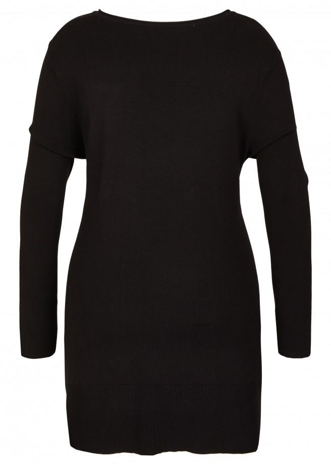 Femininer Pullover mit V-Ausschnitt /