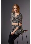 Stylische Bluse mit Animal-Print /