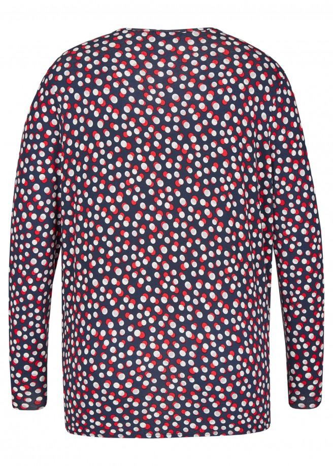 Süßes Shirt mit auffälligem Muster /