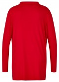 Modernes Shirt mit Wasserfallkragen /
