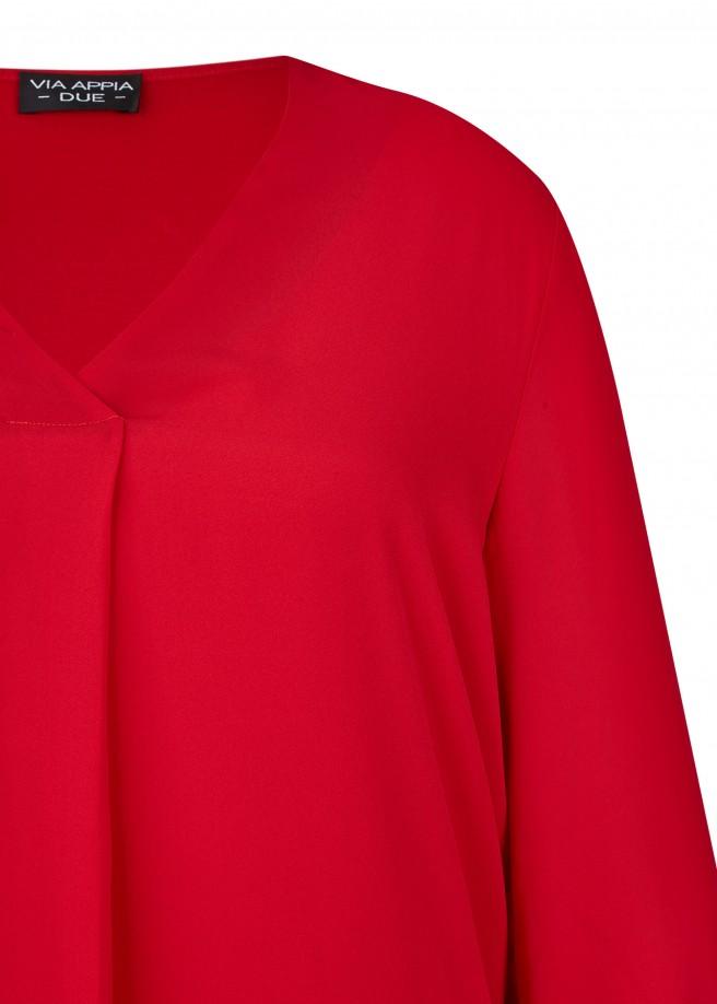 Zarte Bluse mit integriertem Untertop /