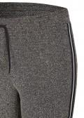 Sportive Hose mit Galon-Streifen /