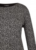 Feminines Sweatshirt im 2-in-1-Design /
