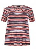 Fröhliches T-Shirt mit Ringel-Muster /