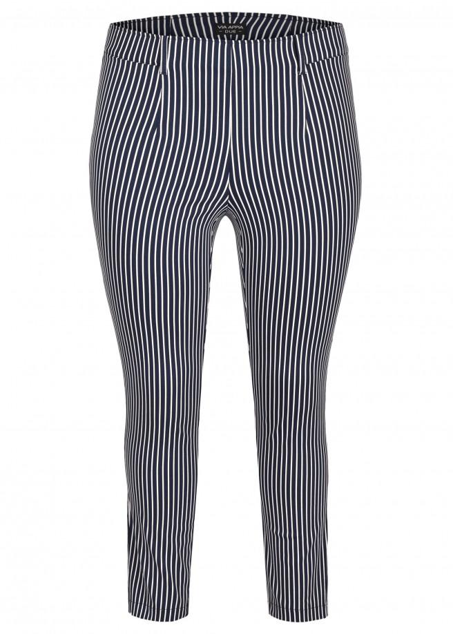 Modische Hose mit Streifenmuster /