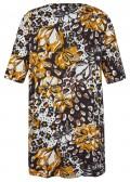 Feminine Tunika mit floralem Muster /