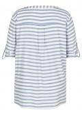 Modische Bluse mit Streifendesign /