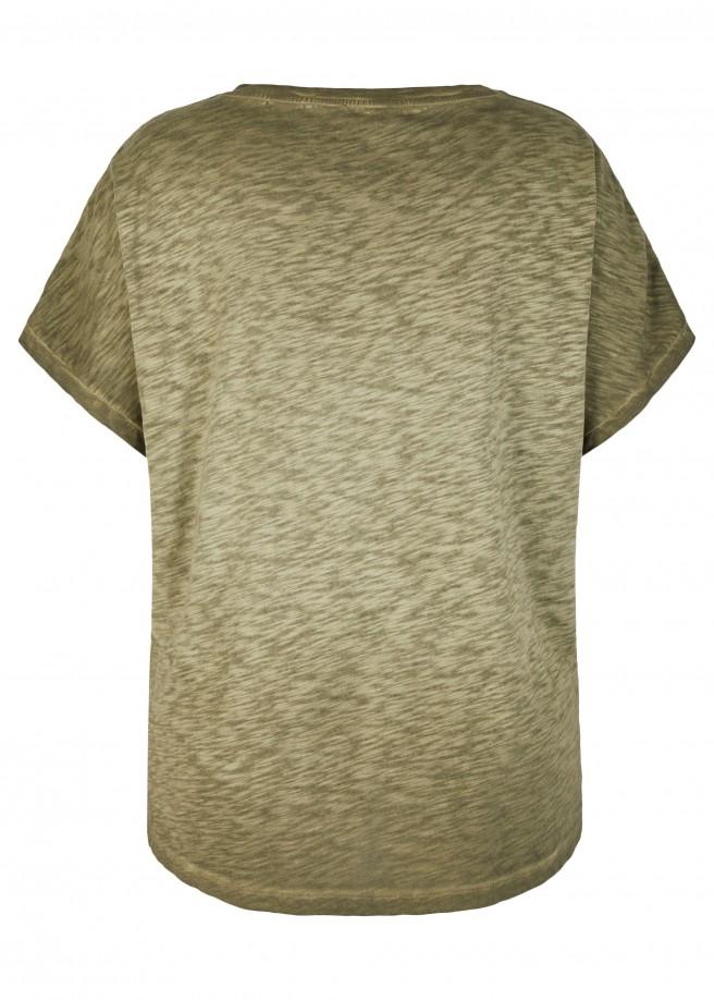 Glitzerndes Motiv-Shirt /