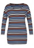 Feminines Shirt mit Ringel-Muster /