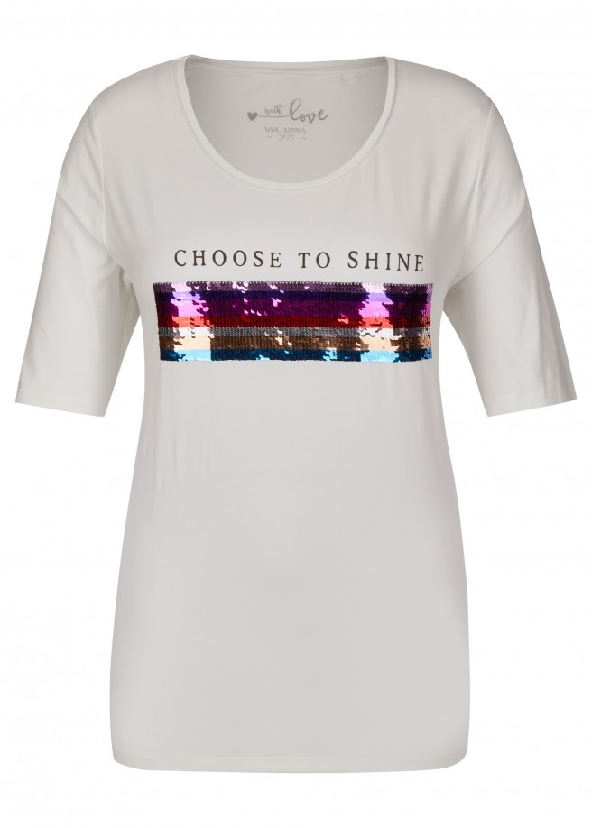 "Modernes T-Shirt ""Choose to shine"" /"