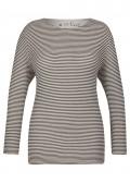 Maritimes Shirt mit Ringelmuster /