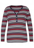 Fröhliches Shirt mit Ringel-Muster /