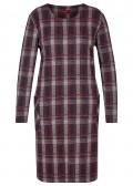 Feminines Kleid mit Karo-Muster /