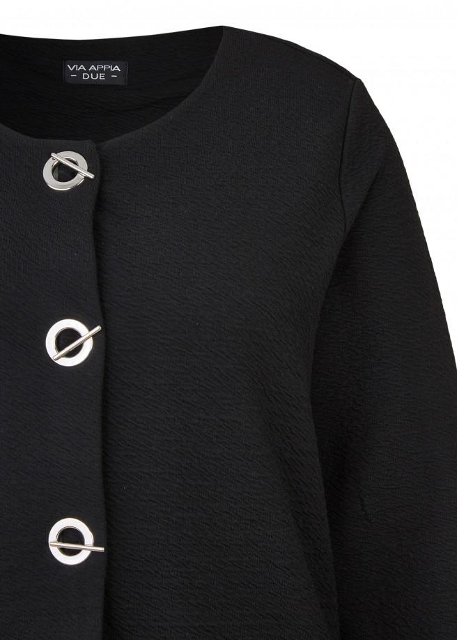 Extravagante Jacke mit auffälligen Knöpfen /
