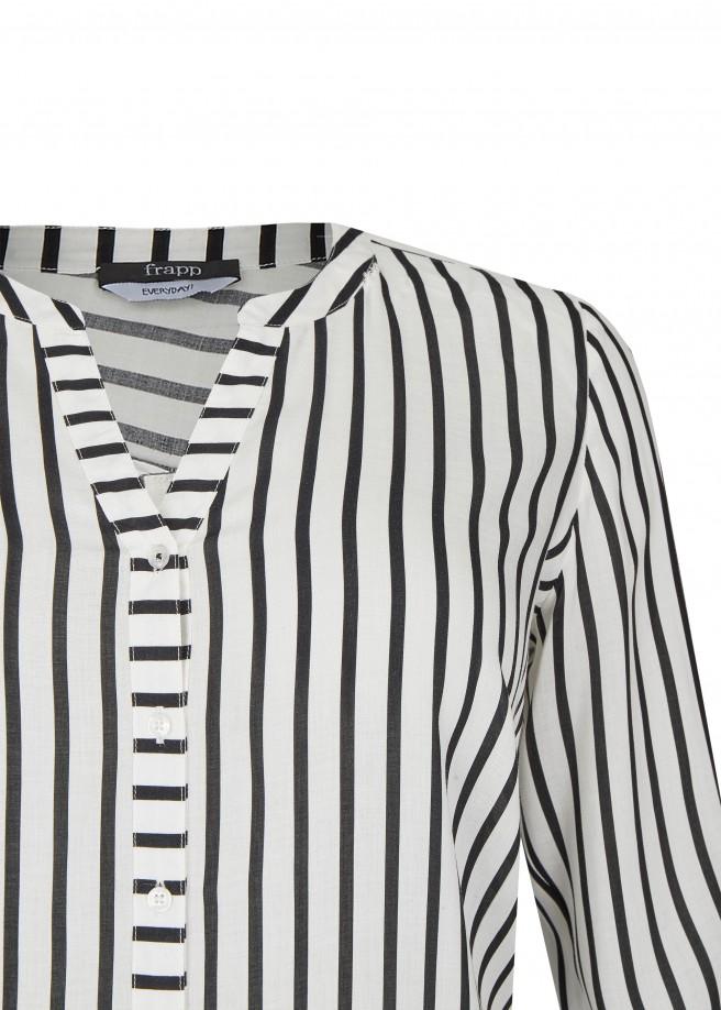 Coole Bluse mit Streifen /