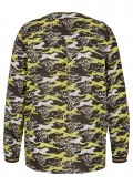 Einzigartige Schlupf-Bluse mit Leoparden-Muster /