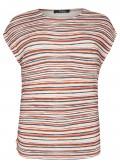 Fesches T-Shirt in mehrfarbigem Ringel-Look /