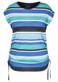 Modernes T-Shirt mit Allover-Ringeln /