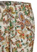 Modische Schlupfhose mit Paisley-Muster /